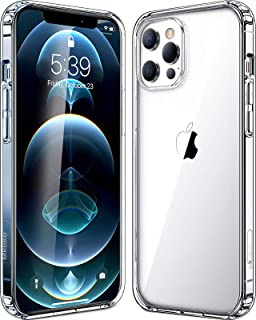 Mkeke Compatible with iPhone 12 Pro Max Case, Compatible with iPhone 12 Pro Max Cover Clear for 6.7 inch 2020