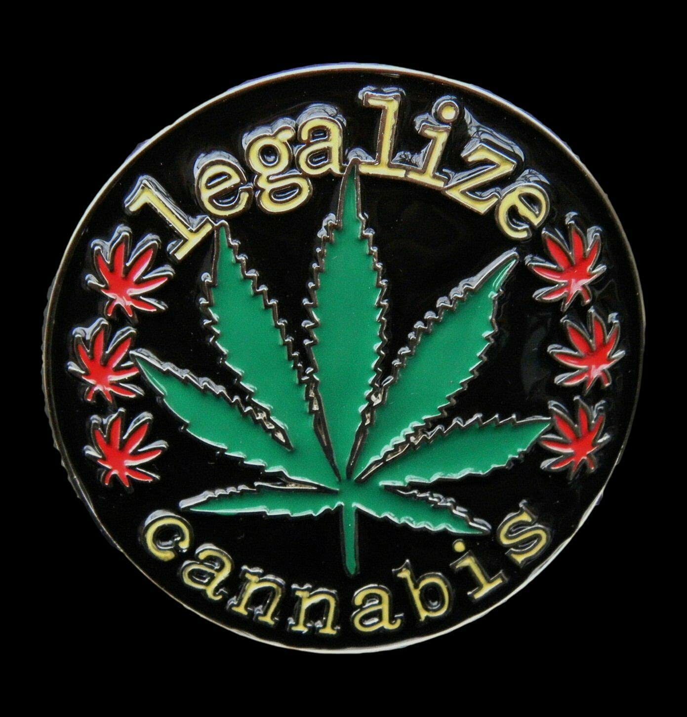 Legalize Cannabis Industry No. 1 Marijuana Limited time for free shipping Buckle Belt