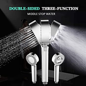 Double-Sided Shower Head SPA Can Put Shower Gel Shower Booster Shower Heads New