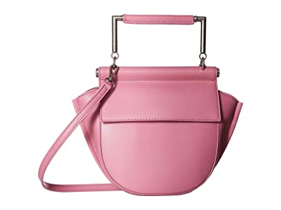 Sam Edelman Mia Half Moon Crossbody (Cherry Blossom) Handbags