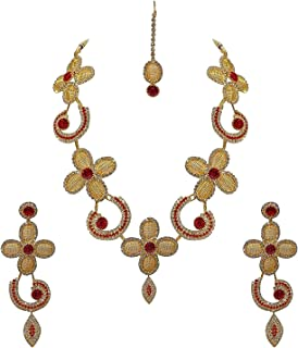Confidence Necklace Set With Mangtika Gift Item for Women