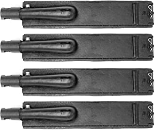 Mr. KAN GBC30-4 Cast Iron Burner Replacement for Aussie, Barbeques Galore (Turbo), Centro, Charbroil, Coleman, Costco, Nexgrill, SAMS and Others Grills, 4 Pack 15 3/4 x 2 7/8 Burners