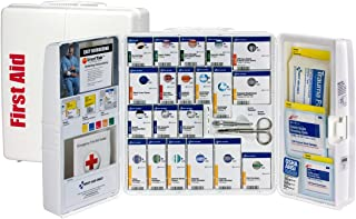 Pac-Kit by First Aid Only 1000-FAE-0103 Large Smart Compliance General Workplace First Aid Cabinet with Pain Relief Medication