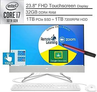 "$1489 » 2020 HP 24 AIO 23.8"" FHD Touchscreen All in One Desktop Computer_ 10th Gen Intel Quard-Core i7-10510U_ 32GB DDR4 RAM, 1TB ..."
