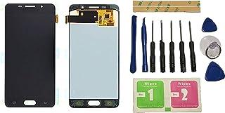 Flügel para Samsung Galaxy A5 2016 A510 SM-A510F Pantalla LCD pantalla Negro Táctil digitalizador Asamblea Pantalla ( sin marco ) de Recambio & Herramientas