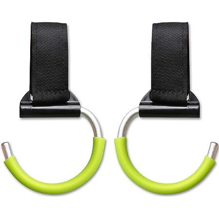 2 Hooks Baby Stroller Universal Multi-Purpose Hooks Black