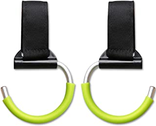 Stroller Hooks Pack of 2 – Unbreakable Aluminum Multi Purpose Hangers for Buggy, Car Seat Headrest & Wheelchair – Clips for Diaper Bags, Purses and Handbags – Baby Gift Packaging