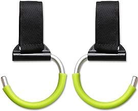 Car Seat Back Holder Portable Metal Car Headrest Hanger Coat Clothes Hook Purse Bag Hanging Hanger Organizer 2 Pack Northen