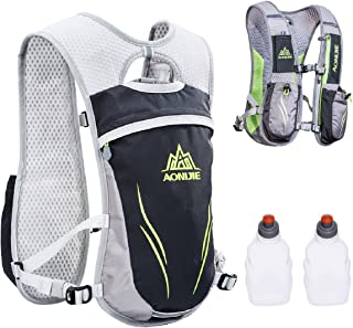 TRIWONDER Hydration Pack Backpack 5.5L Outdoors Mochilas Trail Marathoner Running Race Hydration Vest