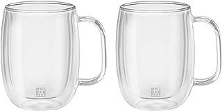 Zwilling Sorrento Çift Camlı Kulplu 2'Li Kahve Bardağı Seti 355 Ml