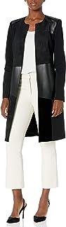 Calvin Klein Women's Mixed Media Topper Jacket