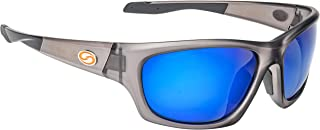 Jordan Lee Pro Series Sunglasses, Matte Translucent Crystal Frame, Multi-Layer White Blue Lens