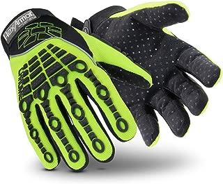HEXARMOR 4026-L (9) Cut Resistant Gloves, Green/Black, L, PR