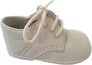 Angels Garment Baby Toddler Boys White Oxford Christening Shoes 1-7