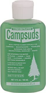 Sierra Dawn Campsuds Outdoor Soap Biodegradable Environmentally Safe All Purpose Cleaner, Camping Hiking Backpacking Travel