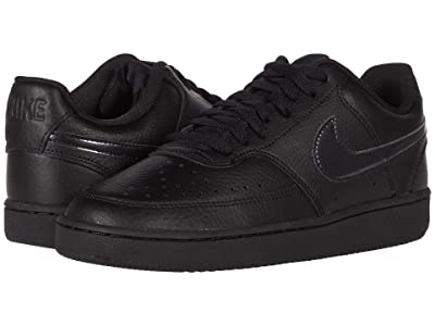 Nike Court Vision Low (Black/Black) Women