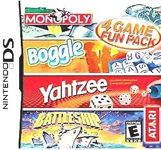 Monopoly/Boggle/Yahtzee/Battleship - Nintendo DS