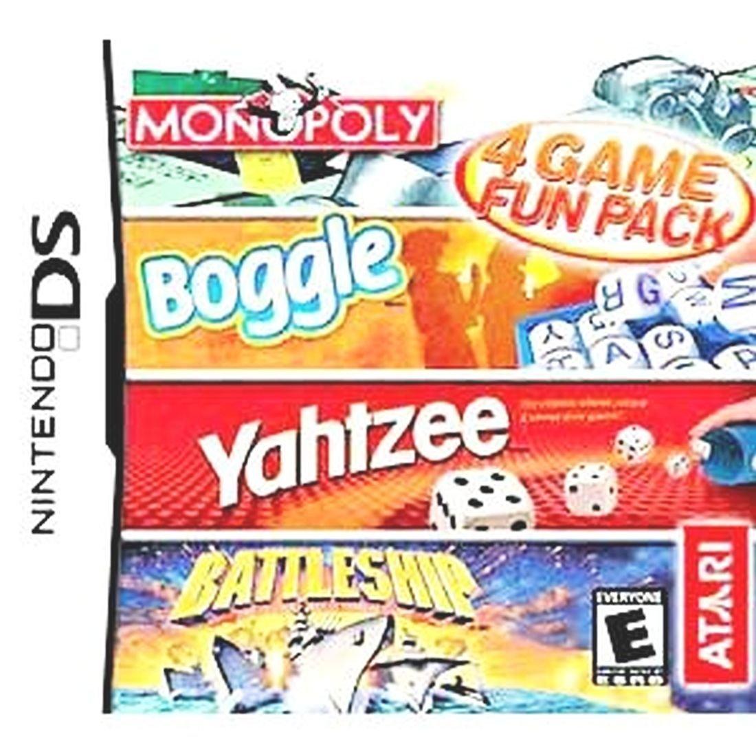 Monopoly/Boggle/Yahtzee/Battleship / Game [Importación Inglesa]: Amazon.es: Videojuegos