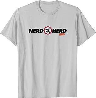 Chuck Nerd Herd T Shirt T-Shirt