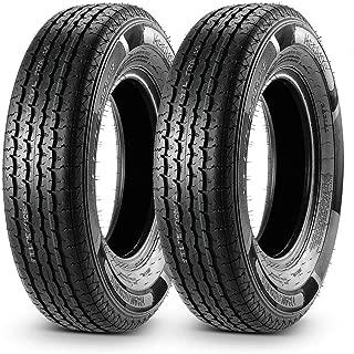 Set of 2 Trailer Tire 175/80R13 175 80R13 Load Range D 97/93L