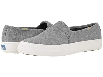 Keds Double Decker Speckled Knit (Gray Speckled Knit) Women