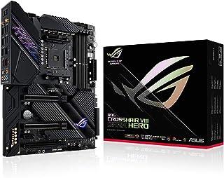 ROG Crosshair VIII Dark Hero - Placa base de gaming ATX AMD X570 con PCIe 4.0, 16 etapas de potencia, OptiMem III, Wi-Fi 6...