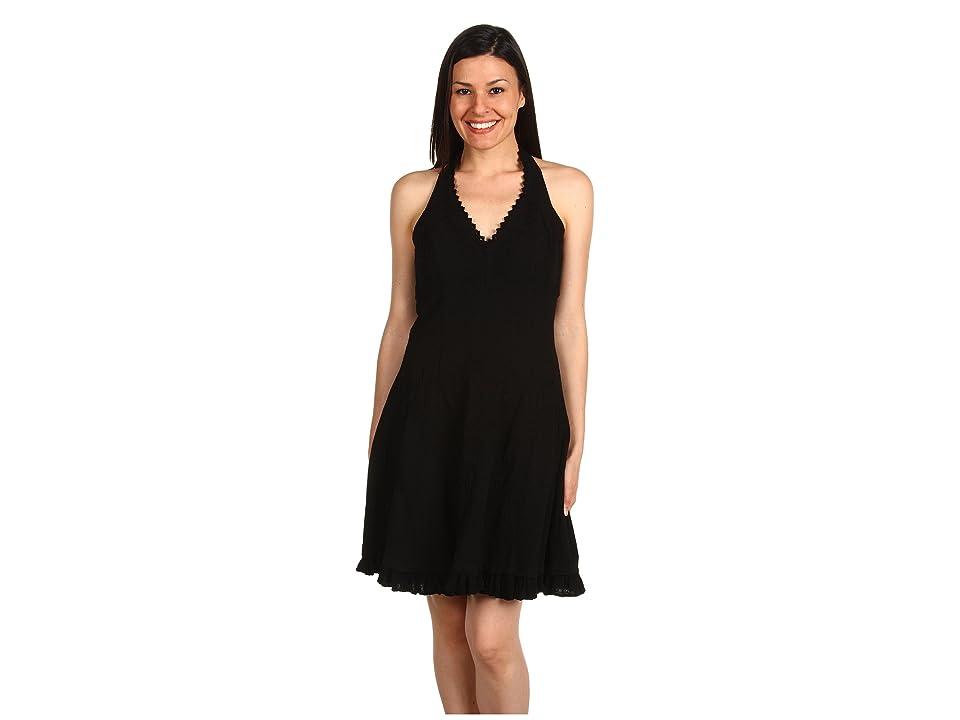 Scully Cantina Halter Dress (Black) Women