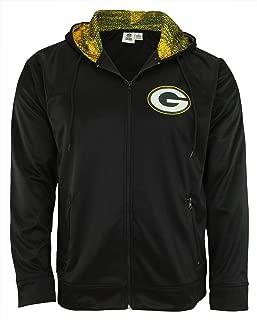 Zubaz NFL Men's Full Zip Performance Fleece Hoodie