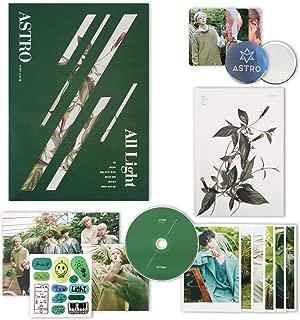 ASTRO 1st Album - All Light [ GREEN ver. ] CD + Photobook + Lyrics Book + Postcards + Sticker + Photocards + FREE GIFT / K-pop Sealed