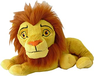 Disney Plush Lion King Adult Simba, Yellow, Pdp1800036