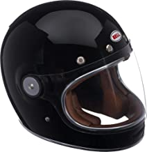 Bell Bullitt Full-Face Motorcycle Helmet (Solid Gloss Black, Small)