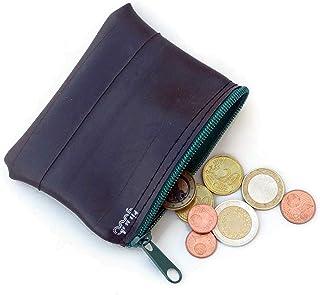 tjuub Geldbeutel, Geldbörse, Kopfhörertasche - Geschenk für Fahrradfahrer Fahrradschlauch upcycling