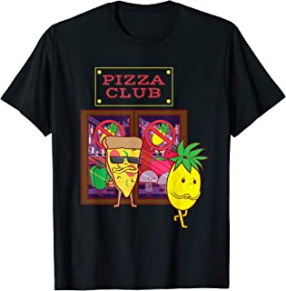 Funny Pineapple Hater Pizza No Pineapple on Pizza Hawaiian T-Shirt