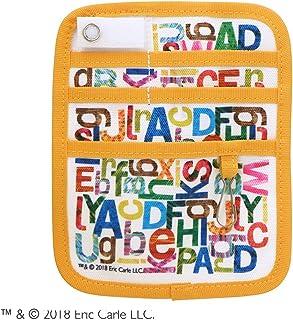 セントレディス エリックカール(はらぺこあおむし) ポケットオーガナイザー アルファベット イエロー 【ST-ZE0007】 約13×16×0.5cm
