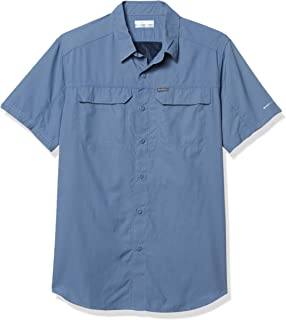 Columbia Silver Ridge 2.0 Short Sleeve Shirt, UV Sun Protection, Moisture Wicking Fabric Camisetas con Cuello Abotonado Ho...