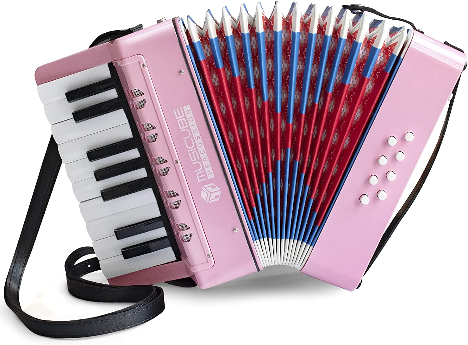 MUSICUBE shopping Accordion Instrument for Kids New item 8 Ba 17 Keys Professional