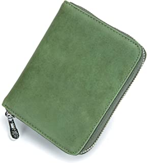 Organizer Rfid Credit Card Holder Leather Wallet Women Passport Business Card Case