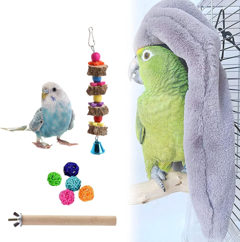 Max 76% OFF Petlex Cozy Corner Very popular Fleece Bird Snuggle Blanket Cage Hut Parrot