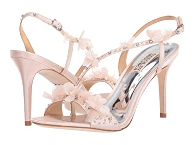 Badgley Mischka Irene (Light Pink Satin) High Heels