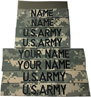 4 pieces ACU Name Tape & US Army Tape