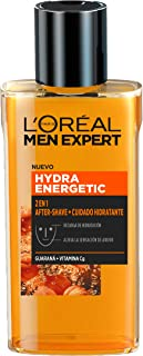 LOréal Men Expert - Hydra Energetic 2 en 1 aftershave y cuidado hidratante para hombres - 125 ml