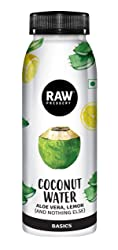 Raw Pressery Coconut Water + Aloe Vera Lemon- 100% Natural Pet Bottle, 200 ml