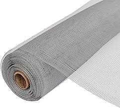 vidaXL Horgaas op Rol Aluminium Zilverkleurig Vliegenhor Gaas Horraam Hordeur