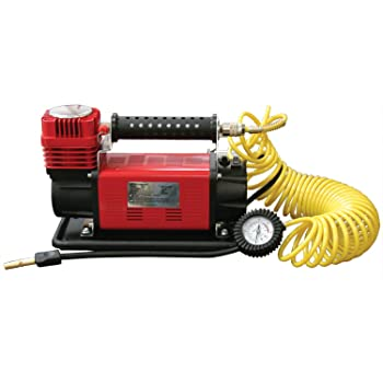 SuperFlow MV-9012 Volt Air Compressor, Portable Heavy Duty Air Pump 12v Air Compressor, Tire Inflator 150 PSI, by for Off Road Vehicles, Trucks, RVs, Bikes and Cars