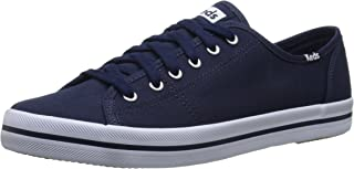 Keds Australia Kickstart Canvas Women's Fashion/Indent (Limited in-Season replen), Navy, 8 US