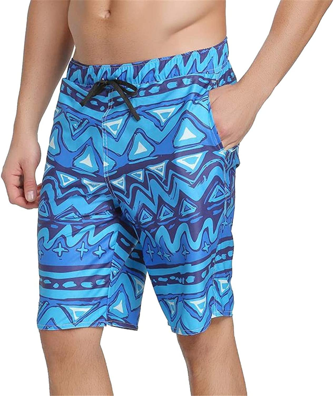 Beach Pants Swim Shorts for Men Print Bathing Shorts Anti-Salt Sand-Proof Swimsuits Quick-Dry