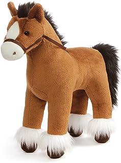 "GUND Dakota Clydesdale Horse Standing Stuffed Animal Plush, Brown, 15"""