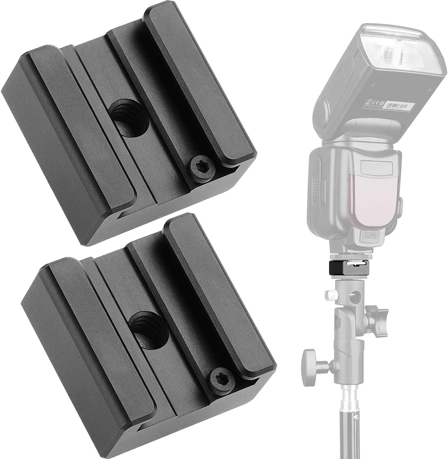 Surprise price Updated Anwenk Flash 5% OFF Cold Shoe Mount Fl Adapter