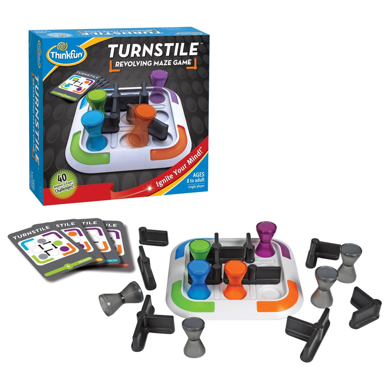 ThinkFun - Turnstile, juego de ingenio (1003) , Modelos/colores Surtidos, 1 Unidad: Amazon.es: Juguetes y juegos