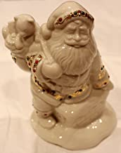 Lenox China Jewels Collection SANTAS VISIT Figure 4th in Series